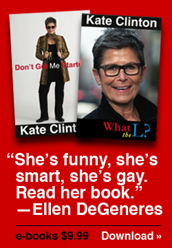 Quote from Ellen DeGeneres about Kate Clinton